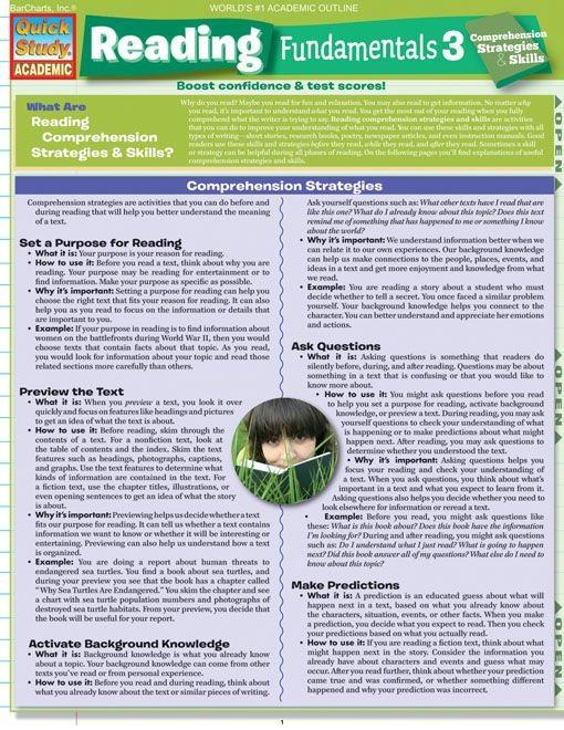 Reading Fundamentals 3