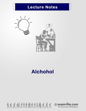 Organic Chemistry Review: Alcohol