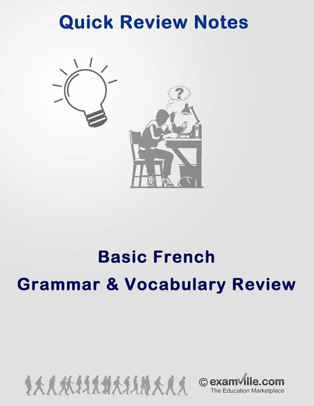 Basic French Grammar and Vocabulary Review