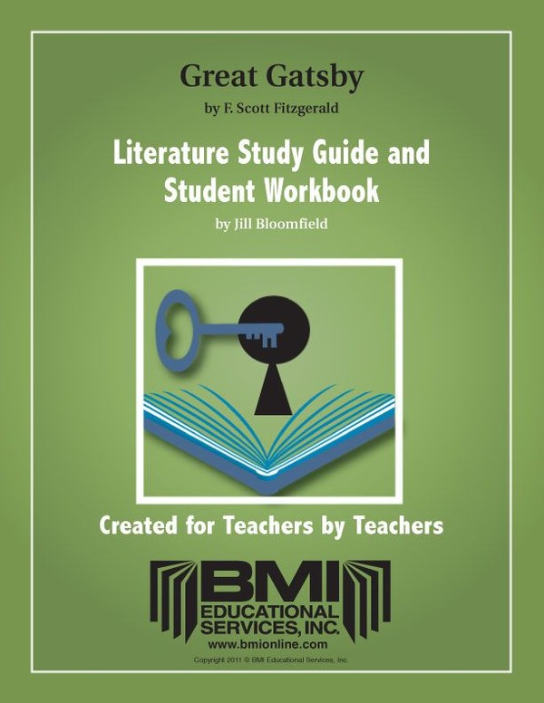 The Great Gatsby: Study Guide and Student Workbook (Enhanced ebook)