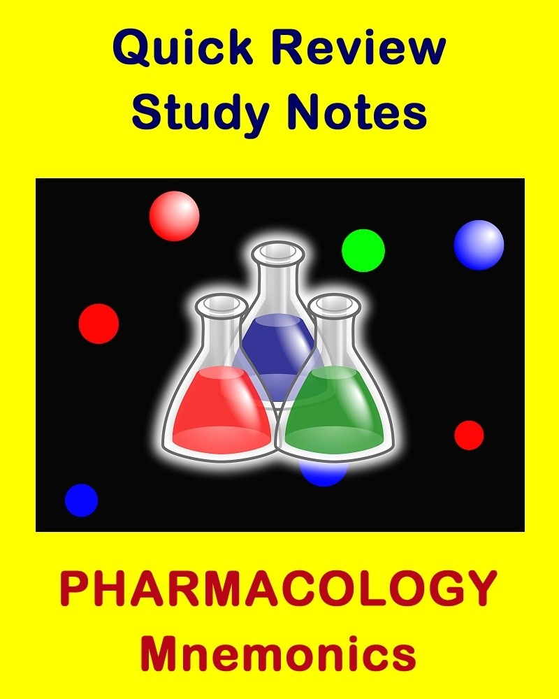 Pharmacology Mnemonics for Health Sciences Students an ...