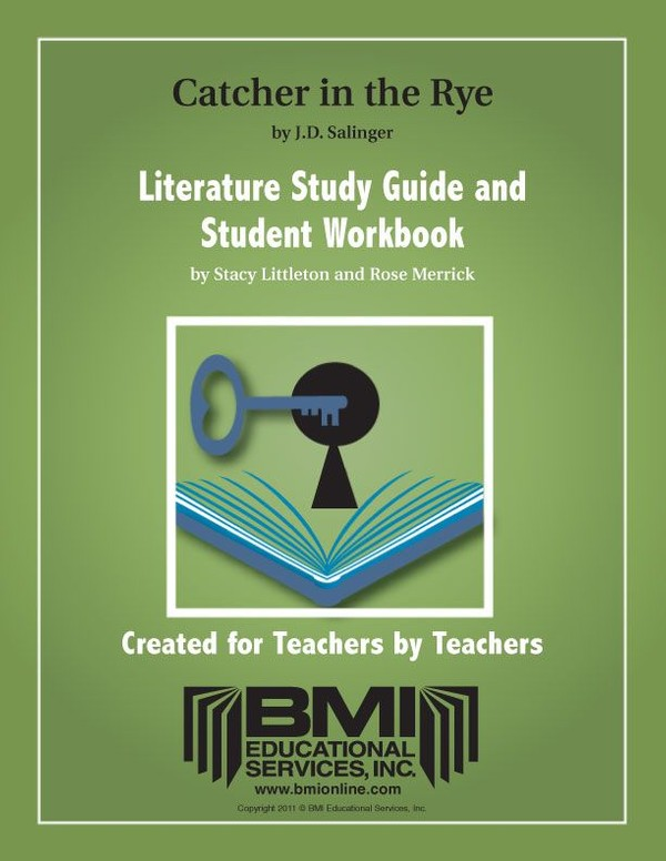 The Catcher in the Rye:  Study Guide and Student Workbook (Enhanced ebook)