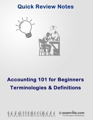 Accounting 101 Terminologies and Definitions