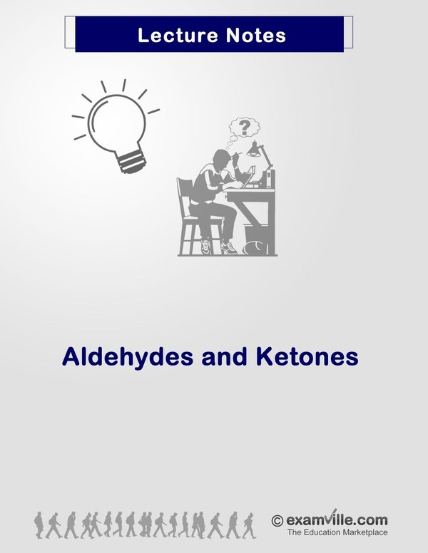 Organic Chemistry Review: Aldehydes and Ketones