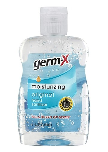 Germ-X Original Hand Sanitizer, 8 Fluid Ounce Bottle