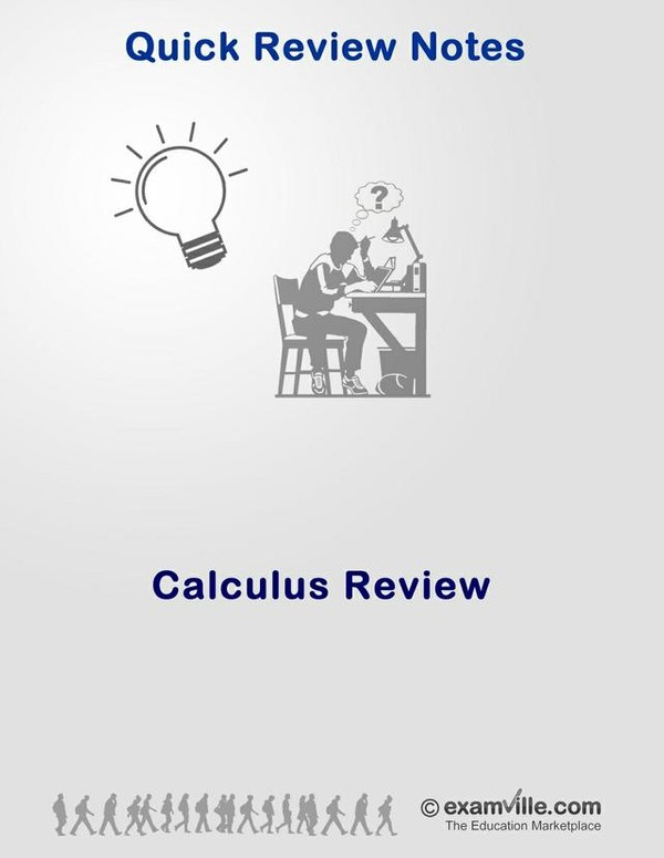 Calculus Review Guide (Quick Review)