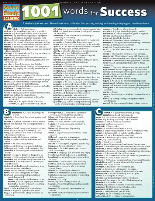 English - 1001 Words For Success