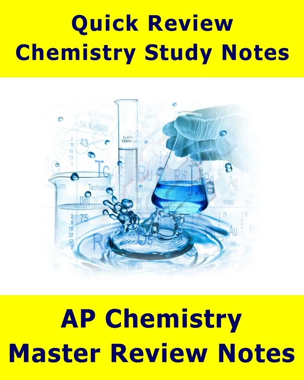 Advance Placement Chemistry Mega Review Notes for High School Students