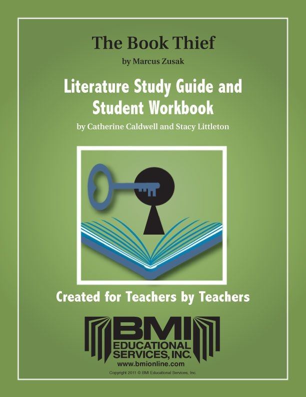 The Book Thief Study Guide And Student Workbook