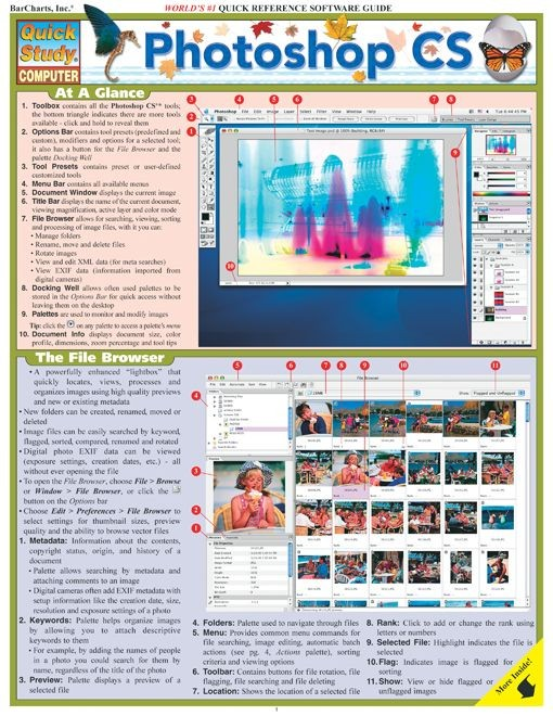 Photoshop CS Cheat Sheet and Quick Review