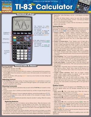 Ti-83 Plus Calculator