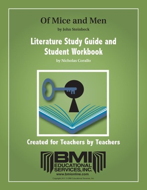 Of Mice and Men: Study Guide and Student Workbook (Enhanced ebook)