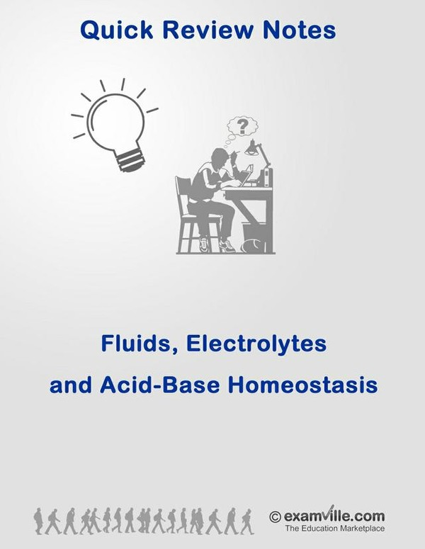 Physiology Review - Fluids, Electrolytes and Acid-Basic Homeostatis