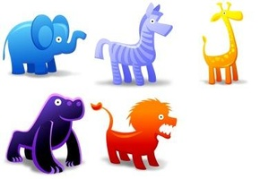 Icon Collection: Animal Toys