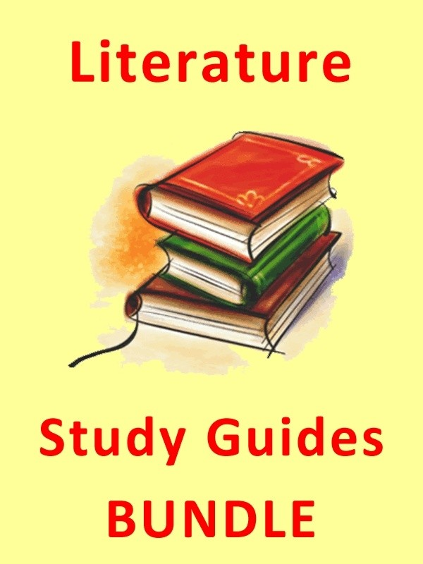 Literature Study Guides and Student Workbook Bundle (64 titles)