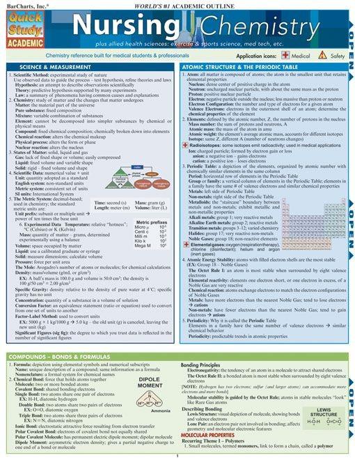 Nursing Chemistry