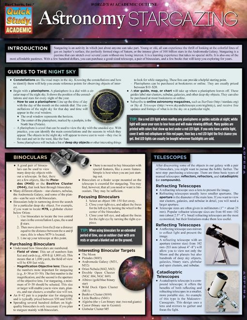 Astronomy: Stargazing