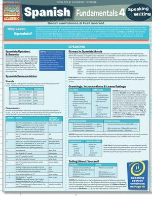 Spanish Fundamentals 4