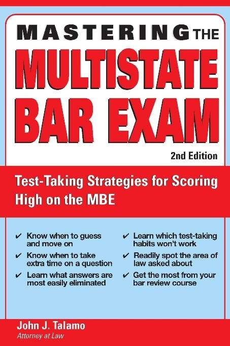 Mastering the Multistate Bar Exam