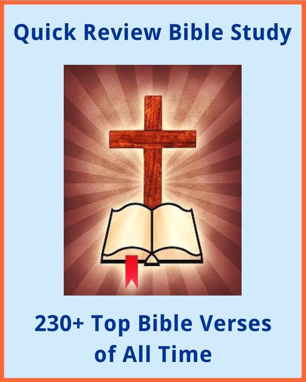 230+ Top Bible Verses of All Time