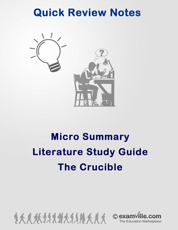 Literature Micro Summary - The Crucible