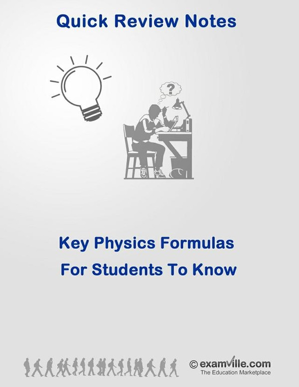 Key Physics Formulas for High School and College Students To Know