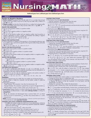Nursing Math for Nurses and Nursing Students