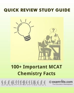 100+ Important MCAT Chemistry Facts