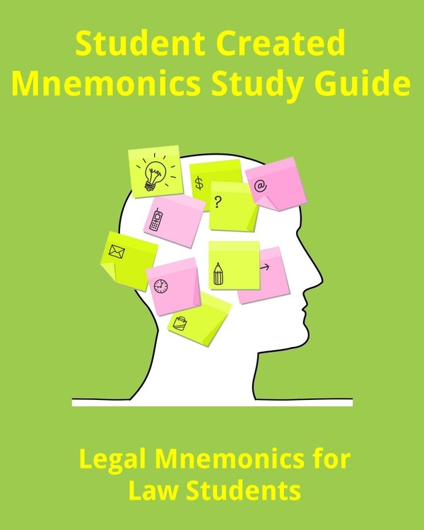 Legal Terms & Concepts Mnemonics for Law Students