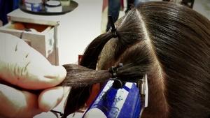 NIKY ROSE HAIR CUT TATTOO