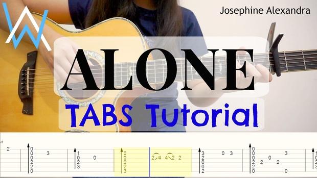 (Alan Walker) Alone - Fingerstyle Guitar TABS [Guitar Pro 5]