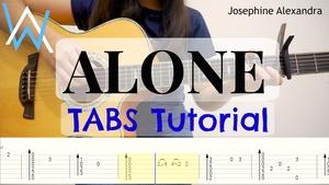 (Alan Walker) Alone - Fingerstyle Guitar TABS [PDF]