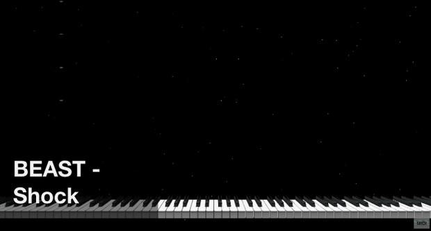 【미디 MIDI】 비스트 BEAST - Shock   MIDI makernect