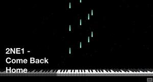 【미디 MIDI】 투애니원 2NE1 - Come Back Home | MIDI makernect