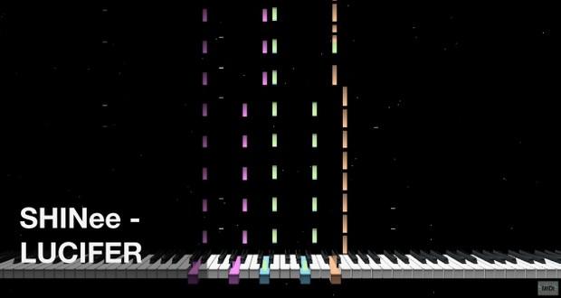 【MIDI Full Cover】 샤이니 SHINee - 루시퍼 LUCIFER | MIDI CUBE | Instrumental | Karaoke