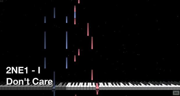 【미디 MIDI】 투애니원 2NE1 - I Don't Care | MIDI makernect
