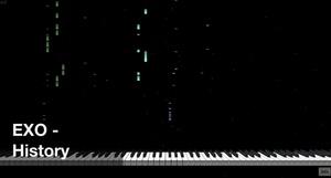 【미디 MIDI】 엑소 EXO - History | MIDI makernect