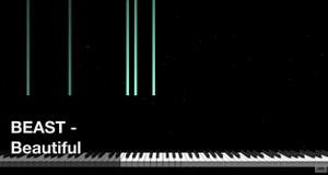 【미디 MIDI】 비스트 BEAST - Beautiful | MIDI makernect
