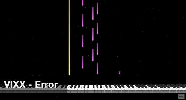 【미디 MIDI】 빅스 VIXX - Error | MIDI makernect