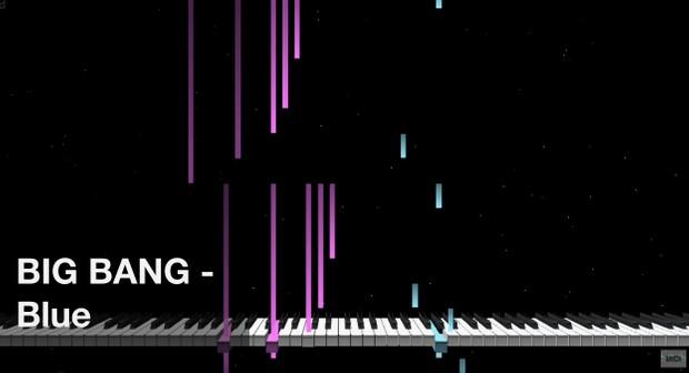 【미디 MIDI】 빅뱅 BIG BANG - Blue | MIDI makernect