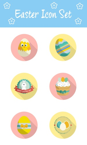 Awesome Easter Icons