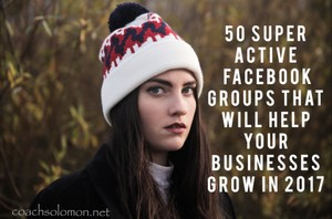 50 Productive FB Groups