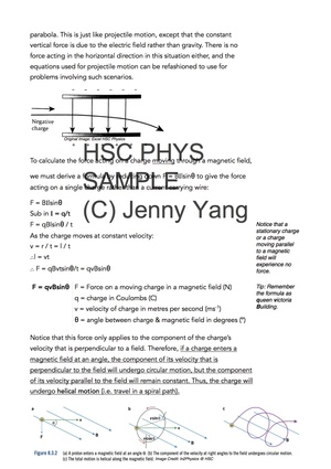 HSC 99.90 ATAR Physics (96) Band 6 From Ideas to Implementation Syllabus Notes