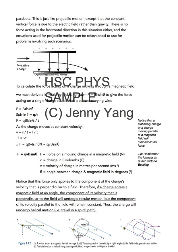 HSC 99 90 ATAR Physics (96) Band 6 From Ideas to Implementation Syllabus  Notes