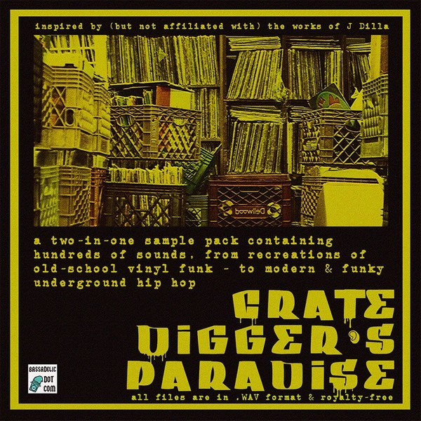 Crate Digger's Paradise (sample pack)