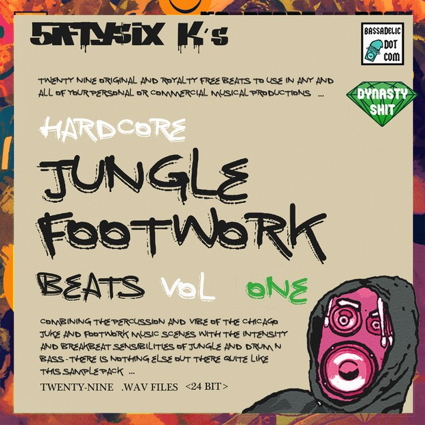 Hardcore Jungle Footwork Beats (VOL 1)