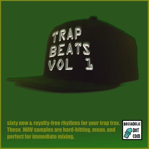 Trap Beats Vol. 1 (Bassadelic.com)