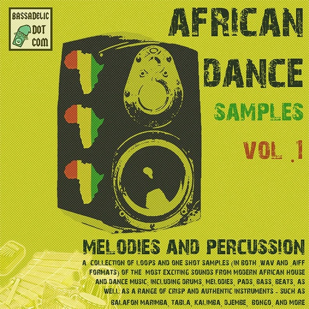 African Dance Samples 1: Melodies & Percussion
