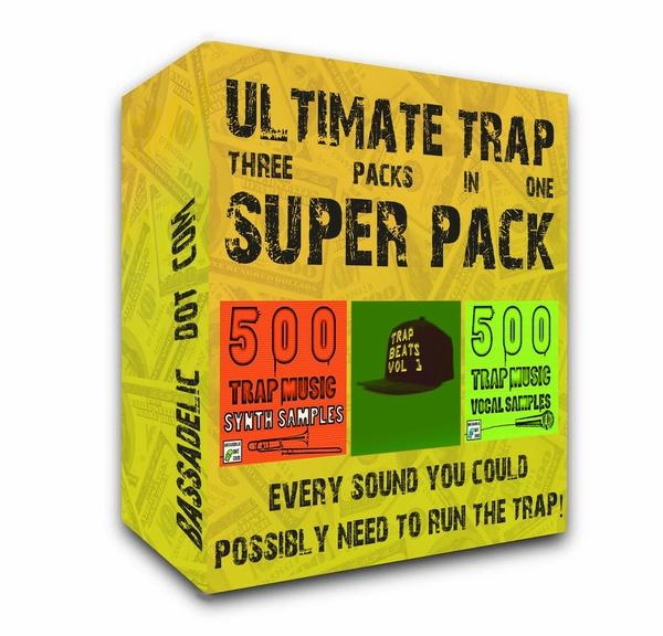 3-in-1 Ultimate Trap Super Pack