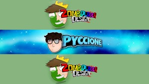 Banner + CartoonHead 2D